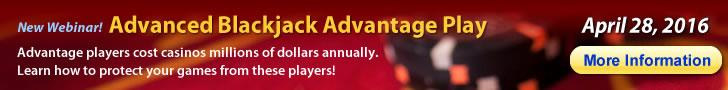 Webinar - Advanced Blackjack Advantage Play