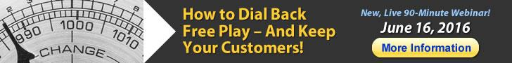 How to Dial Back Free Play and Keep Your Customers!