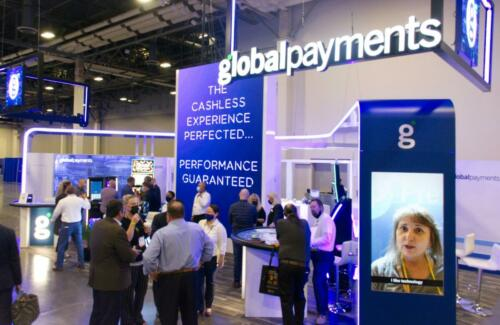Global Payments Booth